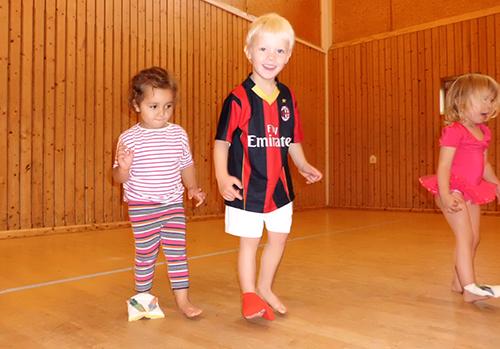 Tomegårdens Montessoriförskola Gymnastik